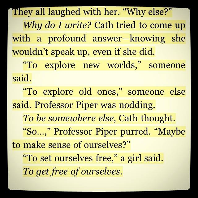 Writer's secret ...